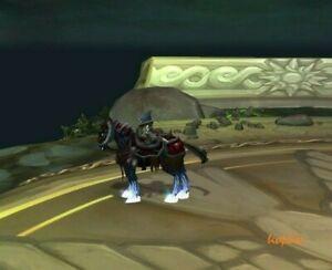WoW Mount Zügel des scharlachroten Todesstreitrosses Reittier World of Warcraft