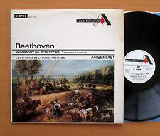 SDD 106 Beethoven Symphony no. 6 Ansermet 1965 Decca Stereo NM/EX (= SXL 2193)