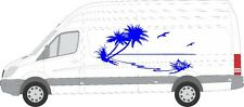 PALM TROPICAL graphics decal fr any cars or truck 16 colors any size fast ship