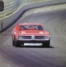 GLOSSY PHOTO PICTURE 8x10 Bobby Isaac 71 Dodge Charger At Ontario