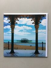 Blank Inside Greeting Card Scenery & Nature - Remains Of Brighton's West Pier
