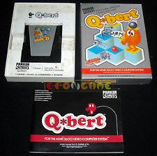 Q*BERT Atari Vcs 2600 Versione Italiana Parker Q Bert Q-Bert ••••• COMPLETO