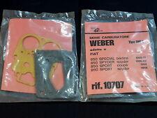 Gasket Set Guarnizioni Carburatore Weber Fiat 850 Carburetor