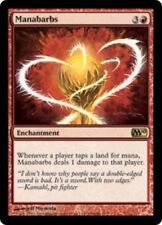 4 Manabarbs ~ Near Mint Magic 2010 M10 4x x4 Playset UltimateMTG Magic Red Card