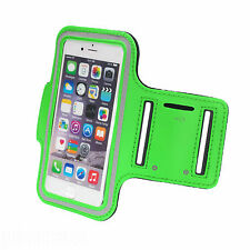 Sports Running Jogging Gym Armband Waterproof Cover for iPhone 5,5s,5c Green