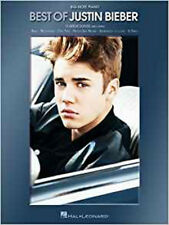 Best Of Justin Bieber - Big-Note Piano, Very Good,  Book
