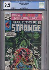 Doctor Strange #43 CGC 9.2 1980 Marvel Michael Golden Comic: New Frame