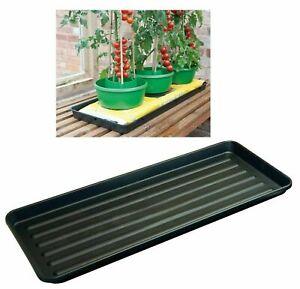 PLASTIC GROW BAG GROWBAG TRAY GARDEN PLANT WATERING TRAYS TOMATTO PLANTER TRAYS