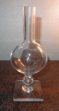 Ancienne loupe de dentellière en verre XIXe
