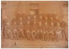WW1 Photograph NCOs Mess 26th Brigade Royal Field Artillery RFA Aldershot 1914 6