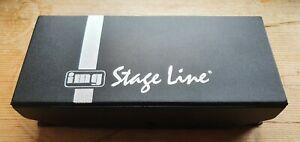 STAGELINE - ECM-304BD - BOUNDRY MICROPHONE, BLACK