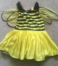 Girls Bumblebee Dress Costume Age 4-6