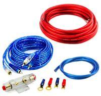Verstärker Endstufe 10qmm Kabelkit High End Cinch Amplifier-Kit Car-Hifi