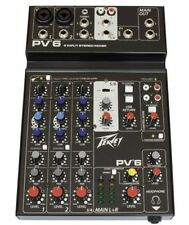 Peavey Analogue XLR In Pro Audio Mixers