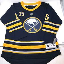 Jack Eichel Stitched Embroidered Buffalo Sabres NWT Youth Jersey L/XL