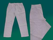 Light Grey Marl Trousers-Ladies Summer Trousers 7/8 Length M. Envelope V. Zara Size M