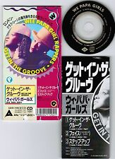 """WEE PAPA GIRLS Get In The Groove /Faith JAPAN 3"""" CD ALDB-69 3-tracks Unsnapped"""