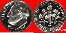 1973 S Roosevelt Dime Gem Proof No Reserve