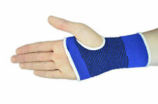 2PC x Breathable Blue Wrist Palm Hand Support Brace Bandage Wrap Gym Sport RSI