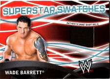 WWE Wade Barrett Topps 2011 Superstar Swatches Event Used Shirt Relic Card FD