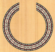 CLASSICAL GUITAR  ROSETTE,SOUND HOLE, WATERSLIDE DECAL/STICKER HB-168