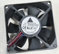 1pc Delta AFB0812SH 80x80x25mm 8025 12V 0.51A 46CFM DC Brushless Cooling Fan