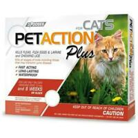 PetAction Pro for Cats & Kitten Over 1.5 lbs 3 Applications #4352