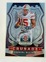 2020 Panini prizm draft picks CRUSADE #50 Ezekiel Elliott Ohio State