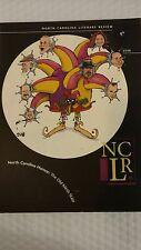 North Carolina Literary Review 2008 No. 17 North Carolina Humor: The Old Mirth S