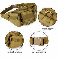 Protector Plus Outdoor Tactical Waist Pack Bag Military Fanny Packs WR Hip Belt