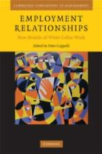 Employment Relationships: New Models of White-