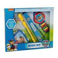 Paw Patrol Toy Music Set With Drum Tambourine Recorder Xylophone TOY NEW BOXED