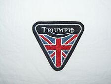 TRIUMPH hierro/coser parche Biker Motorcycle