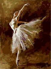 Diy Oil Painting Paint by Number  Kit for Adult Kids- Ballet Queen
