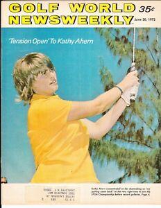 Kathy Ahern June 1972 Golf World Newsweekly LPGA Championship