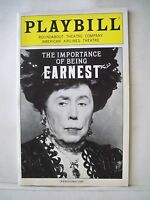 THE IMPORTANCE OF BEING EARNEST Playbill BRIAN BEDFORD / OSCAR WILDE NYC 2011