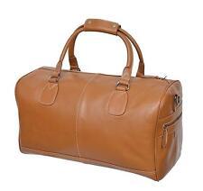 The HOLDALL Bag, Tan Glazed Cowhide Leather, Weekend Bag, Duffel Bag, Overnight