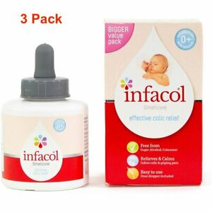 Infacol Colic Relief Drops for Babies 85ml - 3 PACK