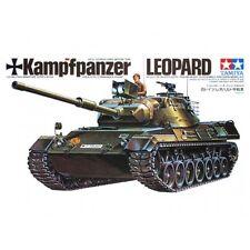 KAMPFPANZER LEOPARD 1 MAIN BATTLE TANK (GERMAN MARKINGS) 1/35 TAMIYA