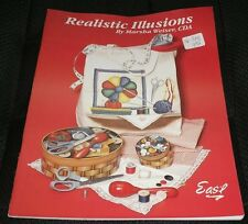 Realistic Illusions Marsha Weiser Eas'l Tole Decorative Painting Book 1994 3-D
