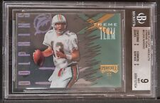 1996 playoff absolute Extreme Team Dan Marino bgs 9