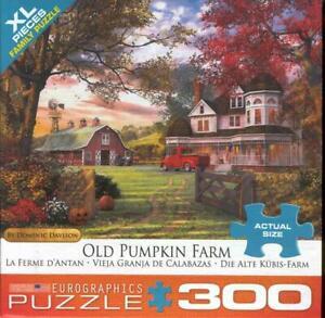 Dominic Davison Eurographics 300Pc Jigsaw Puzzle Old Pumpkin Farm
