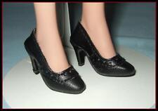 BLACK Oxford High Heel Pumps SHOES for ELLOWYNE WILDE Antoinette U.S.SHIPS FREE