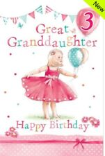 """Birthday Blank Card /""""The Butterfly Lady/"""" Perfect for Girls All Ages FREEPOST"""