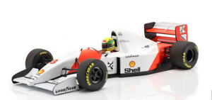 Paul's Model Art 1993 McLaren MP4/8, Japan GP Winner Ayrton Senna F1 1/18 Scale