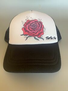 """Turtle Fur First Ink """"Rose"""" Trucker Hat Cap SnapBack-Brand New With Tags"""