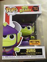 Funko Pop! Disney Pixar Alien Remix Zurg Metallic Hot Topic Exclusive IN HAND