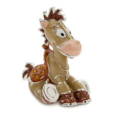 Disney Parks Toy Story Bullseye Figurine Arribas Swarovski Jeweled Mini New Box