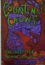 COUNTING CROWS FILLMORE POSTER The Sneetches Third Eye Blind ORIG.F144 J. Howard