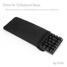 """Grifiti Chiton Fat 12 6"""" x 13"""" Keyboard Sleeve 10keyless Mechanical Keyboards"""
